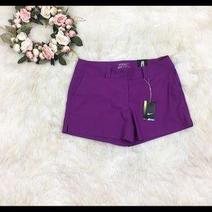 NWT Nike Flex Woven Golf Shorts